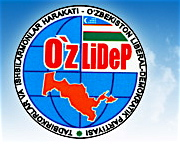 Det uzbekiska liberaldemokratiska partiets logotyp.