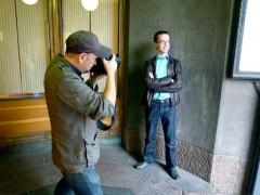 Русские в Эстонии устали жить в гетто Jevgenij fotograferas f?r intervjun